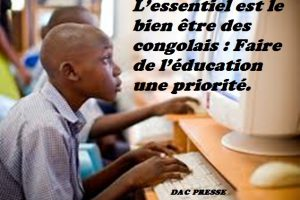 Faire de l'éducation une priorité