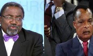 Rodolphe Adada et Sassou Nguesso