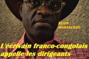 Alain Mabanckou – Libye, esclavage, dictature africaine: entre la peste et le choléra