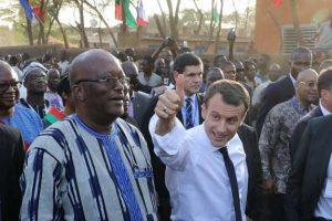 Macron au Burkina le 28 Novembre 2017