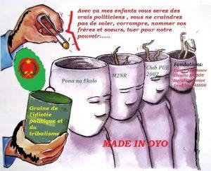 Quand la graine de l'idiotie et du tribalisme politique gangrène les Sassou