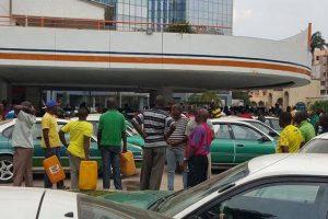 Pénurie d'essence à Brazzaville