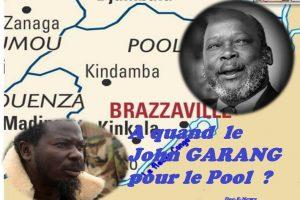 A quand le John GARANG pour le Pool à l'image de celui du Soudan Sud?