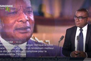 Andrea Papus NGOMBET MALEWA: La parole tranchée et engagée pour conscientiser le peuple congolais à un sursaut national.