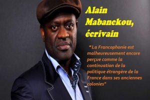 Alain Mabanckou,  Né en 1966 à Pointe-Noire (République du Congo), Alain Mabanckou est notamment l'auteur de «Verre cassé», «Mémoires de Porc-Epic» (prix Renaudot 2006) ou encore «Lumières de Pointe-Noire».