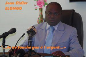"""Jean Didier Elongo se dédouane '.""""..Je ne touche pas à l'argent...»"""