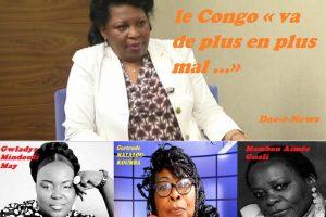 Claudine Munari est une femme politique congolaise