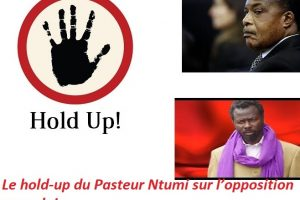 Le hold-up du Pasteur Ntumi sur l'opposition congolaise.