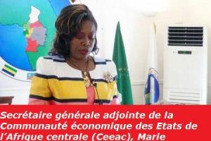 Secrétaire générale adjointe de la Communauté économique des Etats de l'Afrique centrale (Ceeac), Marie Thérèse Chantal Mfoula