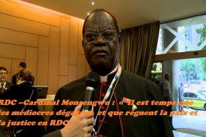 Répression en RDC : la réaction du cardinal Laurent Monsengwo