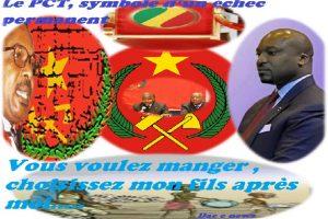 De l'échec du PCT 1 à la programmation d'un futur échec du PCT 2 avec Christel Denis SASSOU NGUESSO comme leader….