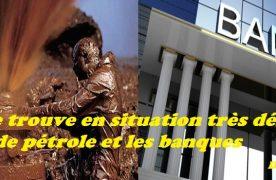 le Congo  se trouve en situation très délicate avec les traders de pétrole et les banques