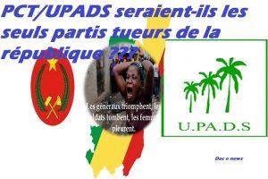 PCT/UPADS seraient-ils les seuls partis responsables des malheurs des congolais