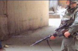 Militaires de l'opération Pélican dans les rues de Brazzaville