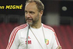 Sébastien MIGNÉ, ex entraineur des Diables Rouges