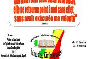 SERVICE CULTUREL OECUMENIQUE ''PRIÈRE POUR LE CONGO-BRAZZAVILLE''