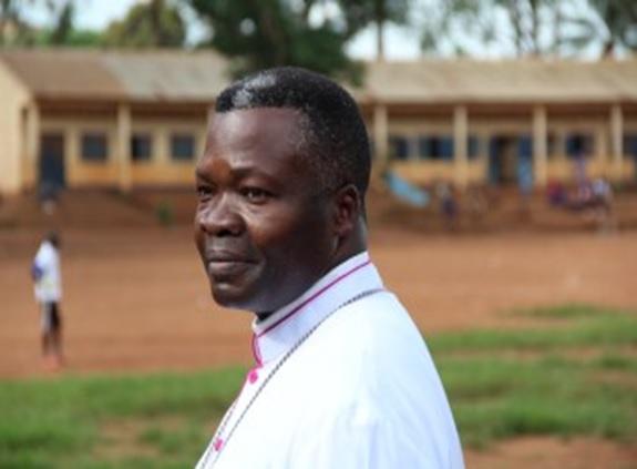 Mgr-Bienvenu-Manamika-Bafouakouahou, évêque de Dolisie