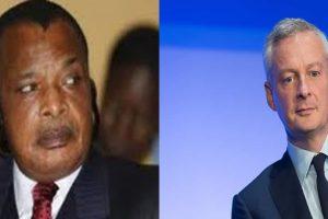 Sassou Nguesso - Bruno le Maire