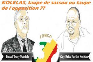 TSATY MABIALA et PARFAIT KOLELAS taupe de sassou ou taupe de l'opposition ???