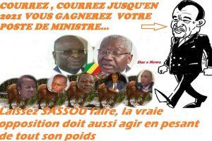 Laissez sassou faire, la vraie opposition doit aussi agir en pesant de tout son poids