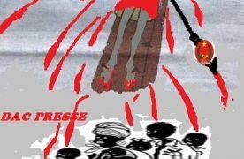 """Sassou Nguesso le """"crucificateur'' du Congo-Brazzaville n'a pas le sens de l'Etat !"""