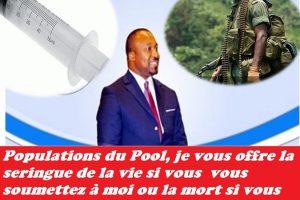 La philanthropie morbide de Denis Christel SASSOU NGUESSO n'est qu'une manipulation politique indécente.