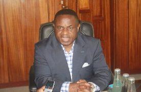 Le ministre Maboundou