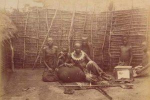 Makoko de Mbé vers 1880