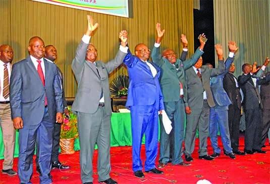Les responsables de l'opposition politique congolaise