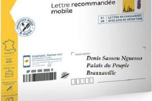 Lettre de l'abbé Brice Ruffieux BAHOUAMIO à Denis sassou nguesso.