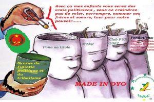 Sassou Nguesso infantilise les congolais en se servant des Mbochis