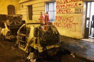 Paris : l'ambassade de la République du Congo vandalisée