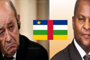 Centrafrique : Cuisant échec du plan machiavélique de la France porté par le ministre Le Drian contre le pouvoir de Bangui