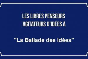 Allocution de La Ballade des Idées à la rencontre avec Alain MABANCKOU, « une fierté de notre Temps »