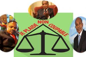 Tony MOUDILOU plaide non coupable pour Marcel MAKOME