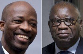 Laurent Gbagbo et Blé Goudé