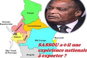 SASSOU a-t-il une expérience nationale à exporter ?