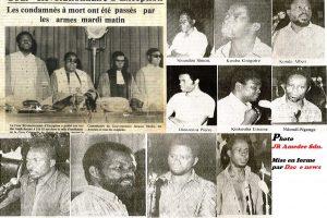 Congo-Brazzaville: 5 Février 1979 – 5 février 2019, triste anniversaire des assassinats du «Petit matin»