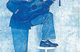 Le Guitariste Zacharie Elenga dit Jhimmy