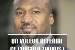 Un voleur affermi ce Congolo-Zaïrois !