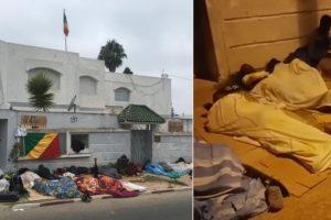 Maroc : des étudiants congolais dorment devant leur ambassade pour réclamer trois années de bourses impayées