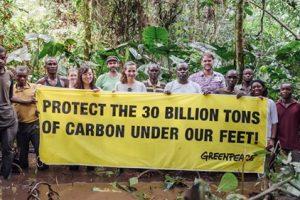 COMMUNIQUÉ DE PRESSE   Congo-Brazzaville distribue des blocs d'huile de tourbière: une déclaration de guerre sur la planète