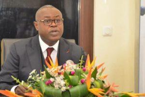 Ministre Léon Juste Ibombo