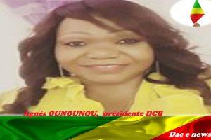 Agnès OUNOUNOU, présidente DCB