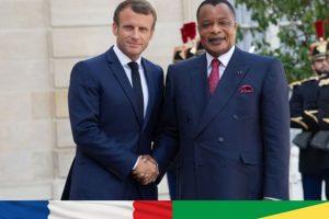 Emmanuel Macron, le président français, a reçu Denis Sassou-Nguesso, son homologue congolais, le 3 septembre à l'Elysée