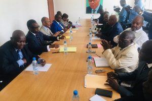 Rencontre entre les amis de M. Pascal Tsaty Mabiala et le Conseil du dialogue : Une grosse arnaque !