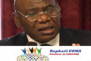 MESSAGE DE FIN D'ANNÉE DU PRÉSIDENT DU CODICORD «La seule exigence de la diaspora est l'alternance»