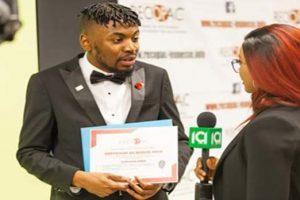 Le cinéaste franco-congolais Ecclésiaste LEMBA récompensé pour l'implication communautaire des jeunes minorités