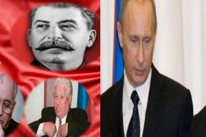 LA RECHUTE: QUAND LA RUSSIE SE RE-SOVIETISE!