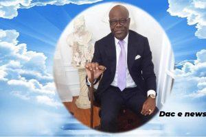 Programme des obsèques de Marc MAPINGOU MITOUMBI